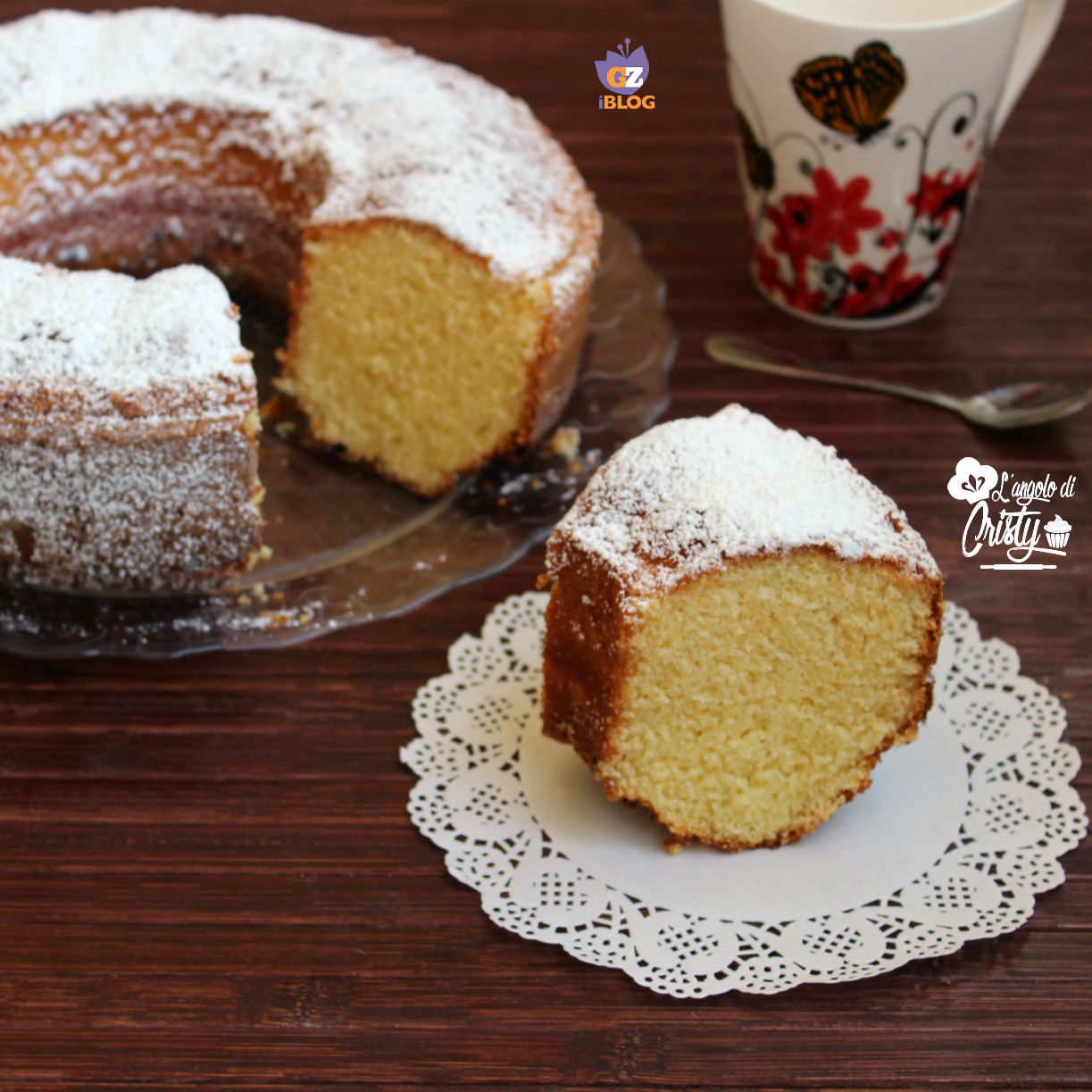 ciambellone all'arancia