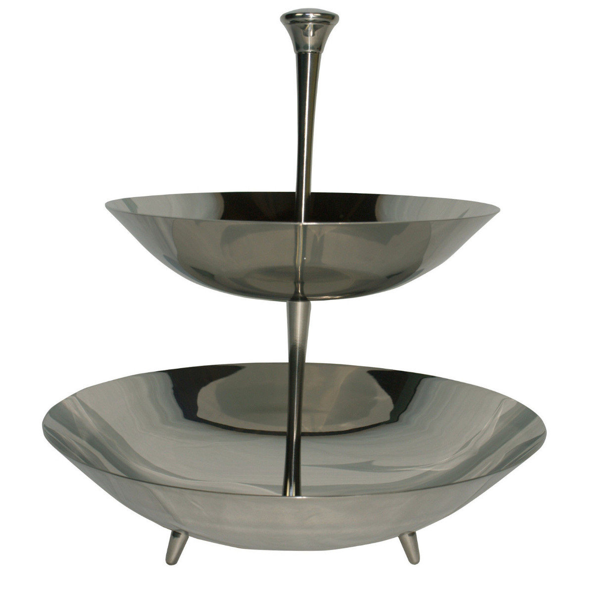 Piazza Cake Stand Stainless Steel Italian Cooking Store