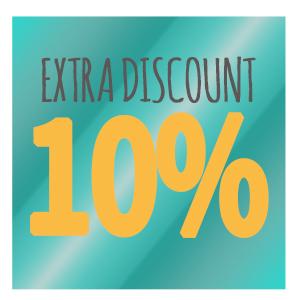 extra discount 10%